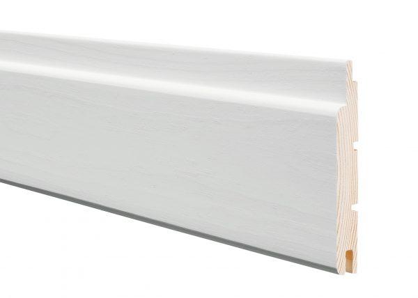 STP 15x95x3170 valkoinen päätypontattu